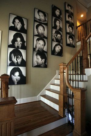Stylish Photo Wall