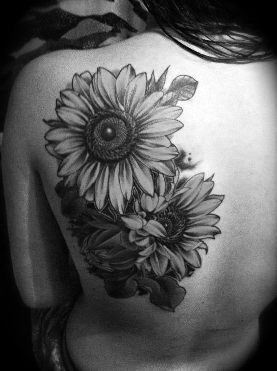 Stylish Plant Tattoo
