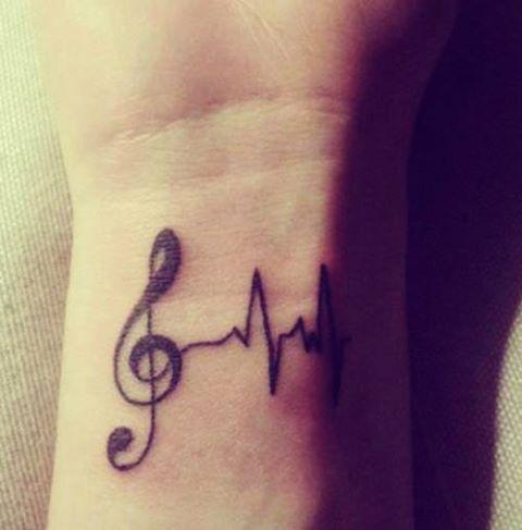 Stylish Tatto Print