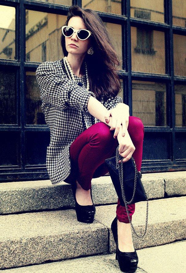 Stylish Vintage Outfit Idea