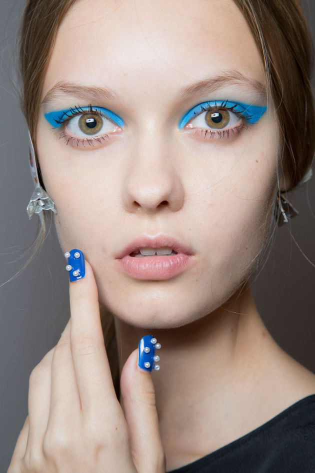Latest Makeup Trends from Spring 2015 Fashion Week ... 2014 Eye Makeup Trends