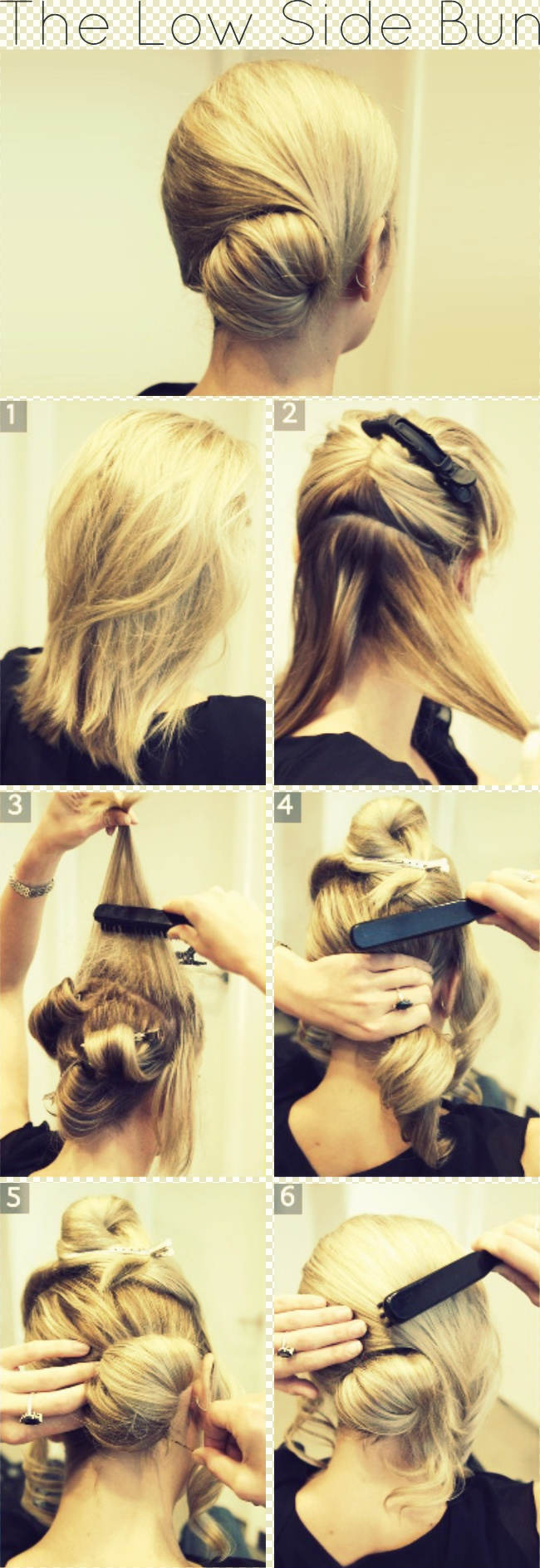 Astounding Graceful And Beautiful Low Side Bun Hairstyle Tutorials And Hair Hairstyle Inspiration Daily Dogsangcom