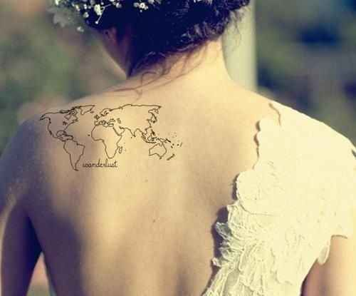 The Map Tattoo