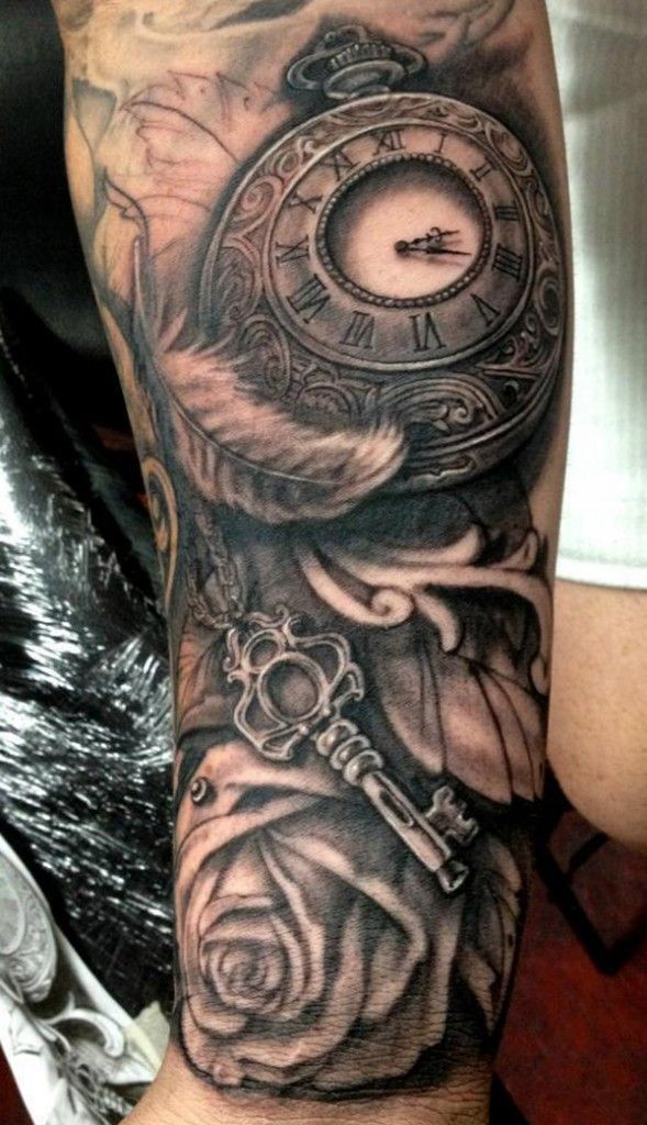 Time and Rose Tattoo