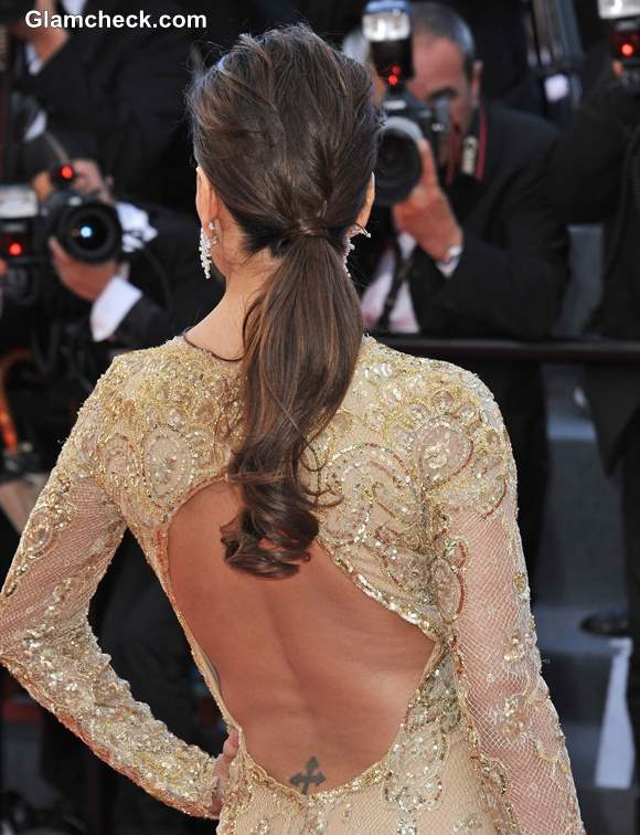 Trendy Low Ponytail Hairstyle