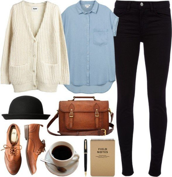 Trendy Outfit Idea with Oxford Shoes