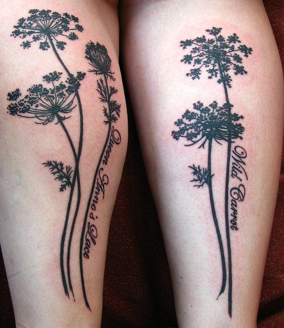 Trendy Plant Tattoo