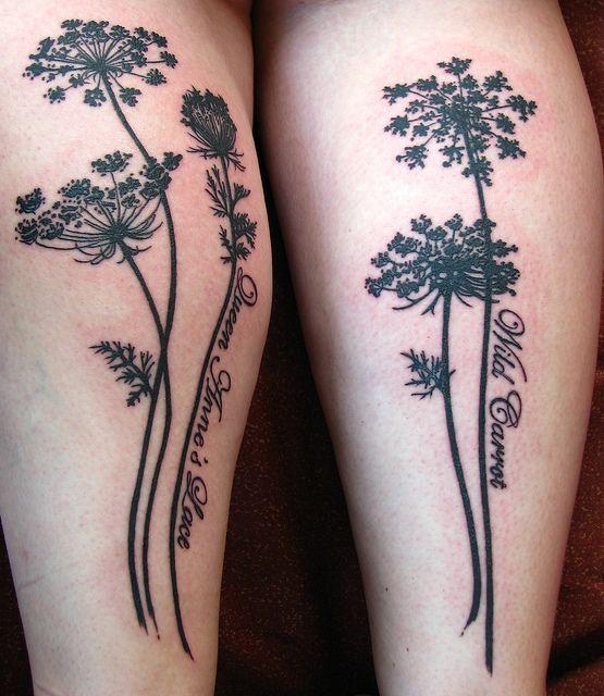 Trendy Plant Tattoo
