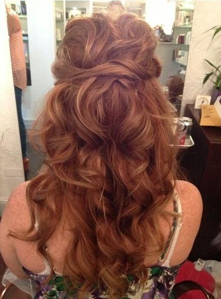 Excellent 12 Glamorous Long Curly Hairstyles Pretty Designs Hairstyles For Women Draintrainus