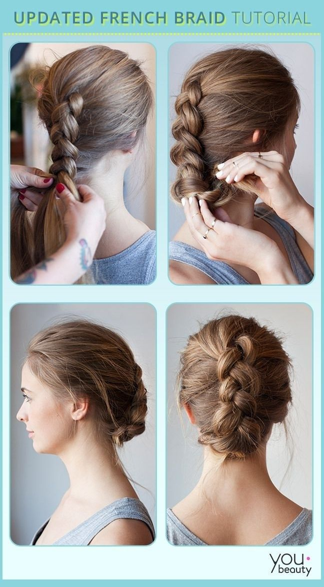 19 Fabulous Braided Updo Hairstyles With Tutorials Pretty Designs