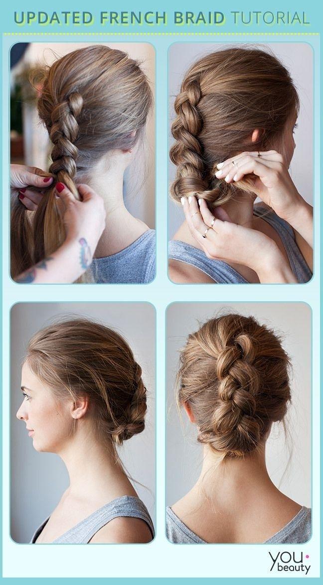 Astounding 19 Fabulous Braided Updo Hairstyles With Tutorials Pretty Designs Short Hairstyles Gunalazisus