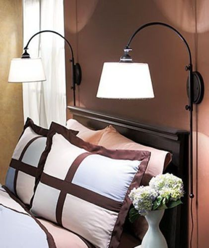 Wall Hung Bed Lamps : Home Decoration: 20 Bedroom Lamp Ideas - Pretty Designs