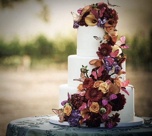 15 Fall Wedding Cake Ideas You May Love