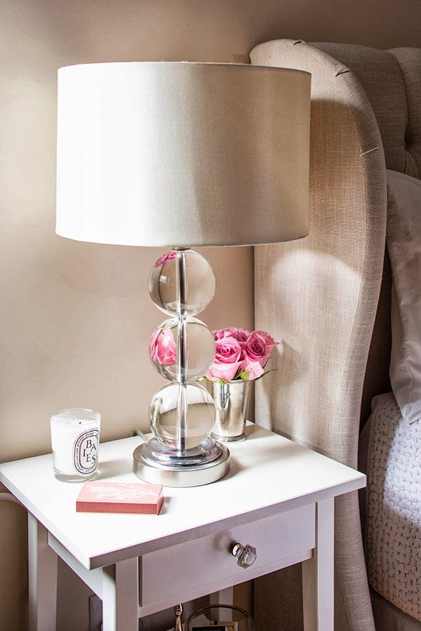 Home decoration 20 bedroom lamp ideas pretty designs for Bedside decoration