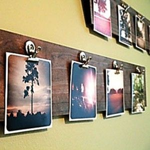 Wooden Board for Photos