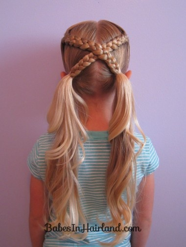 Model Cute Hairstyles For Little Girl Almost Always Involve Some Fun Adornments, Like Hair Flowers, Sparkly Clips Or Colorful Ribbons Weave In A Ribbon Into Your Girls Braids, And Youll Instantly Turn A Common Hairstyle Into A Festive One Cute