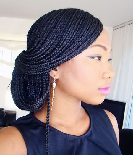 African Hair Box Braiding Style/Pinterest