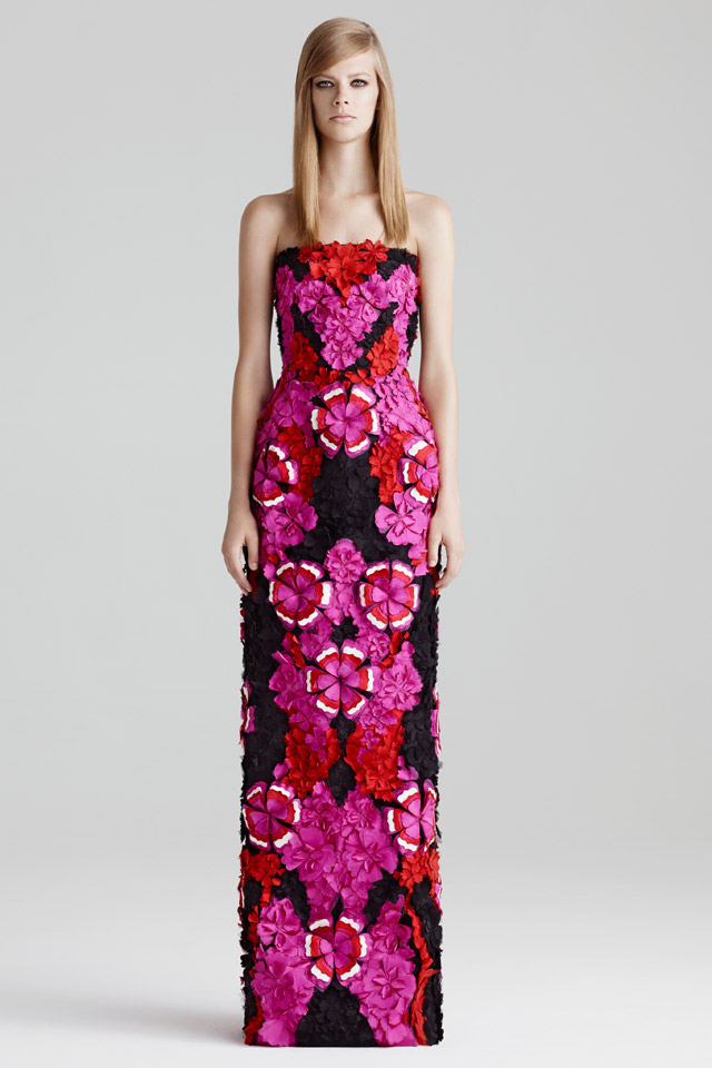Alexander McQueen Floral Dress