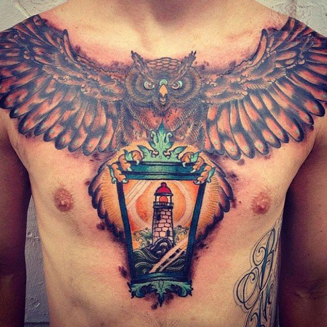 Tattoo designs gallery chest tattoos for men pretty designs for Chest tattoos for women designs