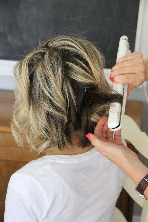 Hair Tutorials Curls For Short Hair Pretty Designs