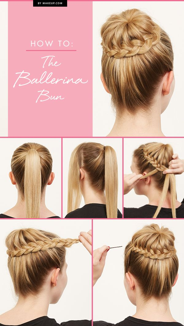 Beautiful Ballerina Bun Hairstyle Tutorial