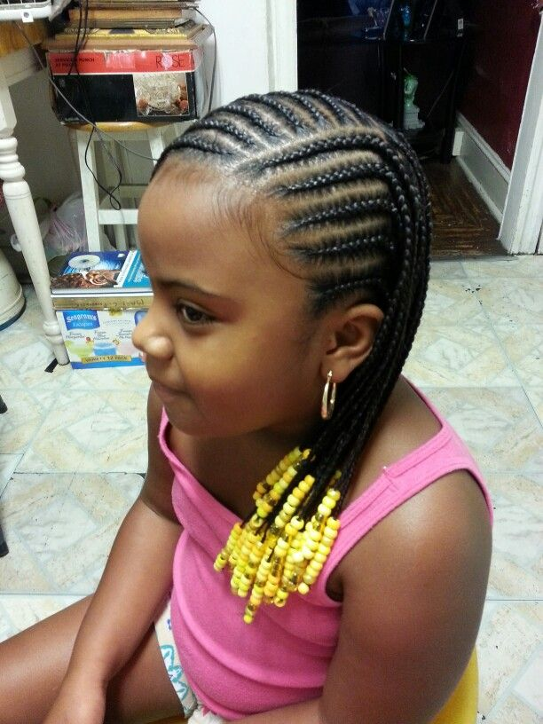 14 Lovely Braided Hairstyles for Kids - Pretty Designs