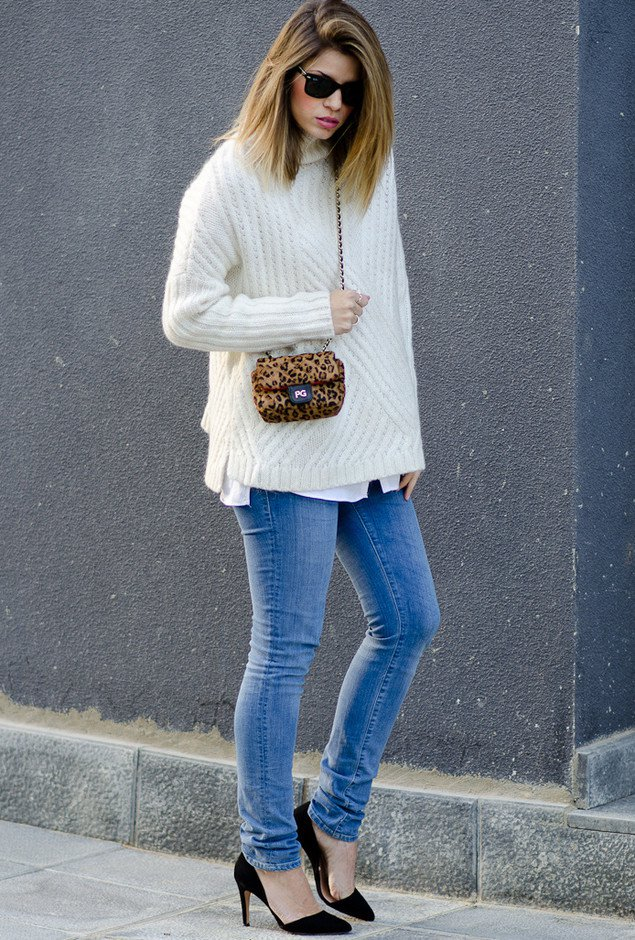 All White Sweater