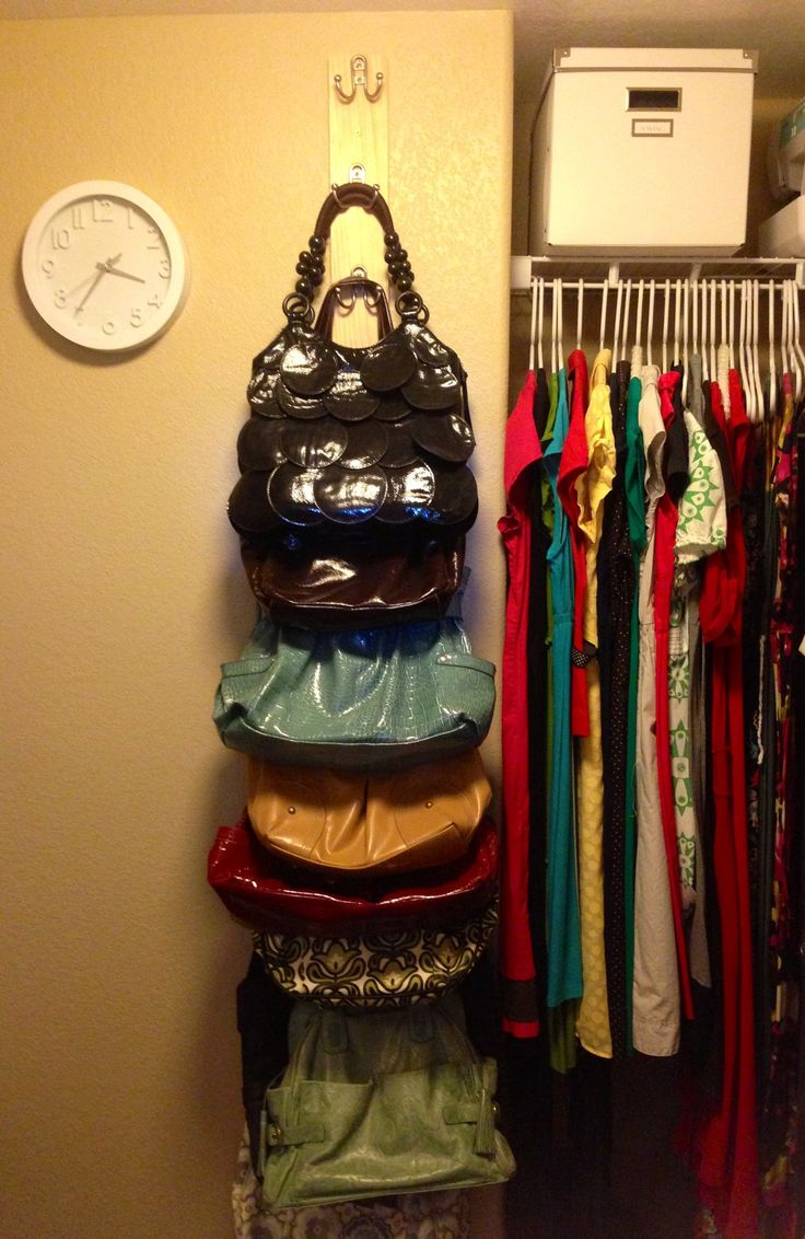 10 diy projects for girls rooms pretty designs Ideas for hanging backpacks