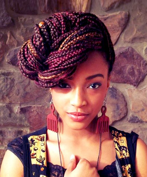 african braids hairstyles 2017 : African American Box Braids Hairstyles