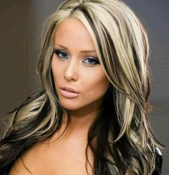 Amazing 12 Edgy Chic Black And Blonde Hairstyles Pretty Designs Hairstyles For Women Draintrainus