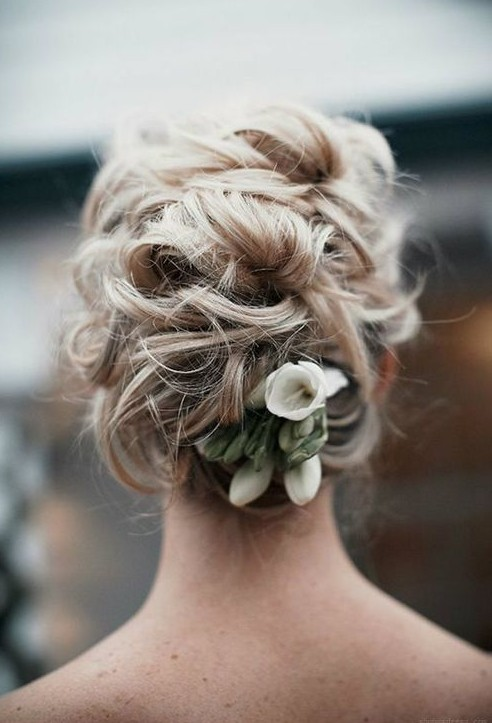 Superb 20 Gorgeous Messy Wedding Updos Pretty Designs Short Hairstyles Gunalazisus