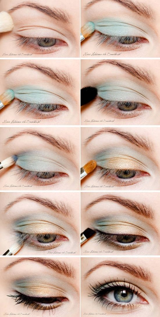 10 Pretty Two Toned Eye Shadow For The Season Pretty Designs