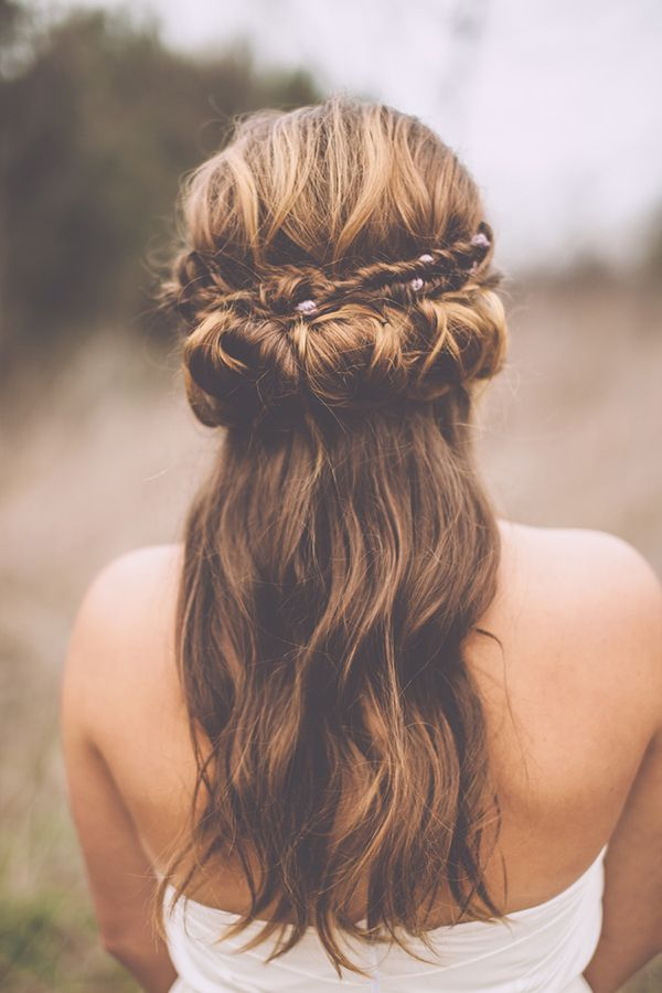 Bohemian Hairstyle With Fishtail Braid