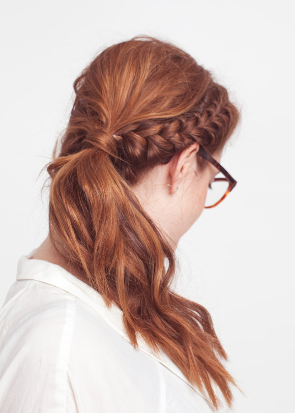 Boho-chic Braided Ponytail