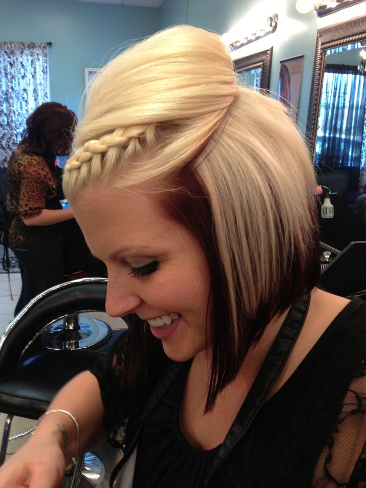 Wondrous 12 Pretty Braided Hairstyles For Short Hair Pretty Designs Hairstyle Inspiration Daily Dogsangcom