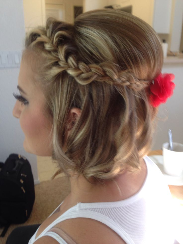 Astonishing 12 Pretty Braided Hairstyles For Short Hair Pretty Designs Short Hairstyles Gunalazisus