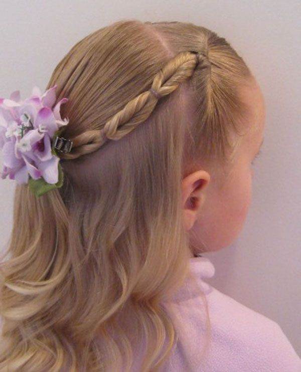 Simple Hair Style For Kids Magnificent 14 Lovely Braided Hairstyles For Kids  Pretty Designs