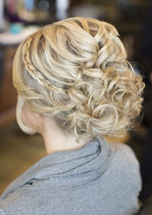 20 gorgeous messy wedding updos pretty designs braided wedding updo pmusecretfo Images