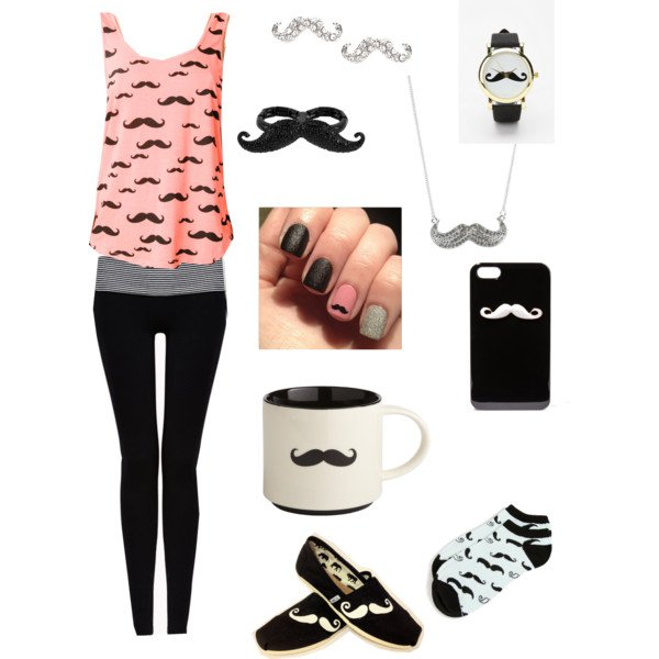 Casual Movember Outfit Idea