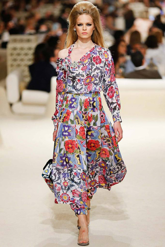 Chanel Floral Dress