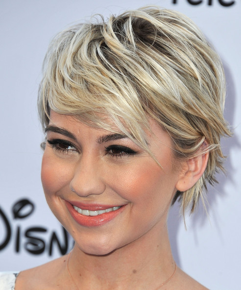 Chelsea Kane Pretty Pixie Haircut
