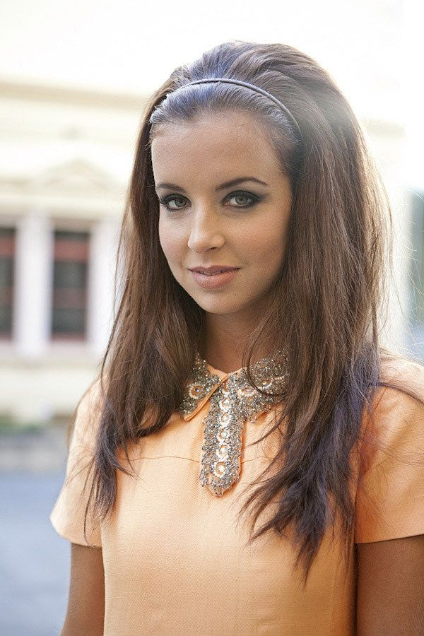 Chic Hairstyle With Headband
