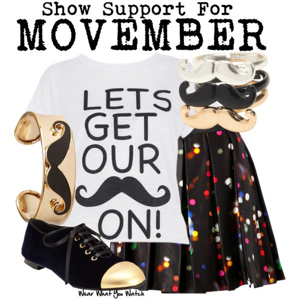 Chic Outfit Idea for Movember