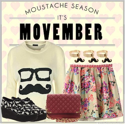 Chic Outfit for Movember