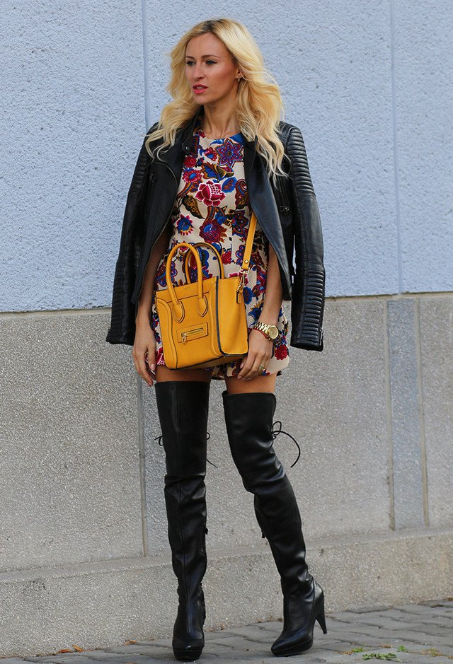 Chic Over-Knee Boots Outfit