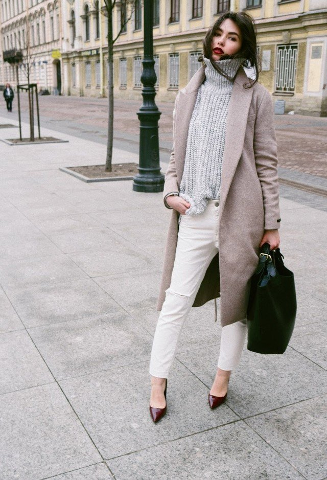 Chic Turtlenecks Outfit for Days