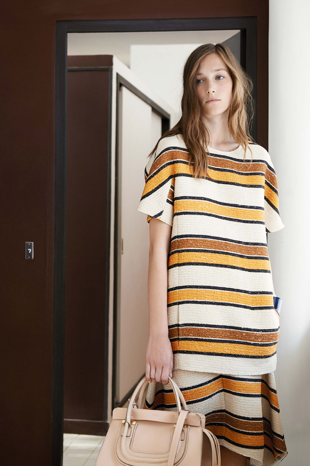 Chloé Stripes Outfit