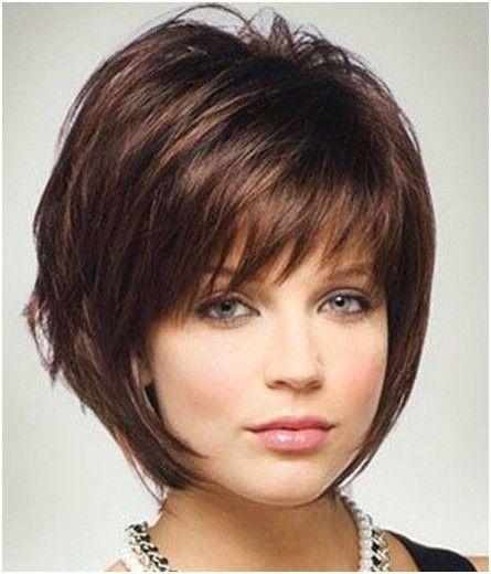 Short Bob Haircut with Bang Hairstyles