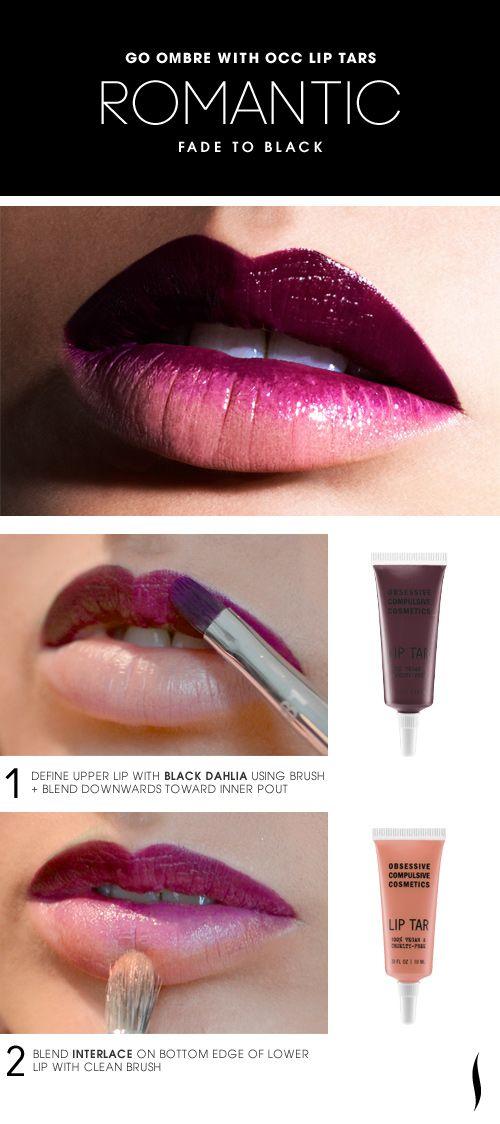 10 Ideas To Have Ombre Lips Pretty Designs