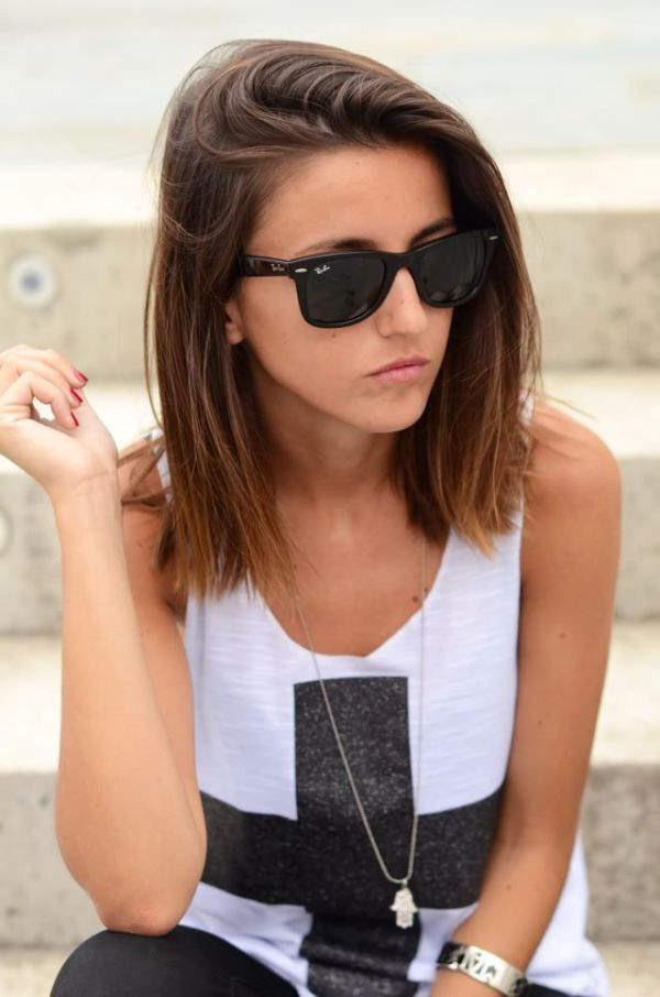 Cool Medium Straight Hairstyle